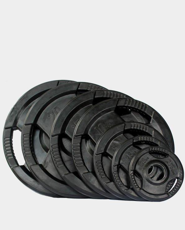 rubber tri grip plates